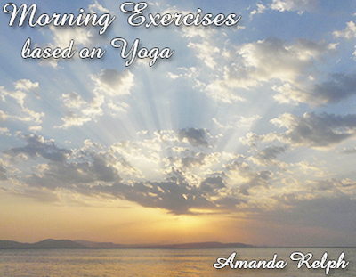 morning exercises based on yoga cd cover